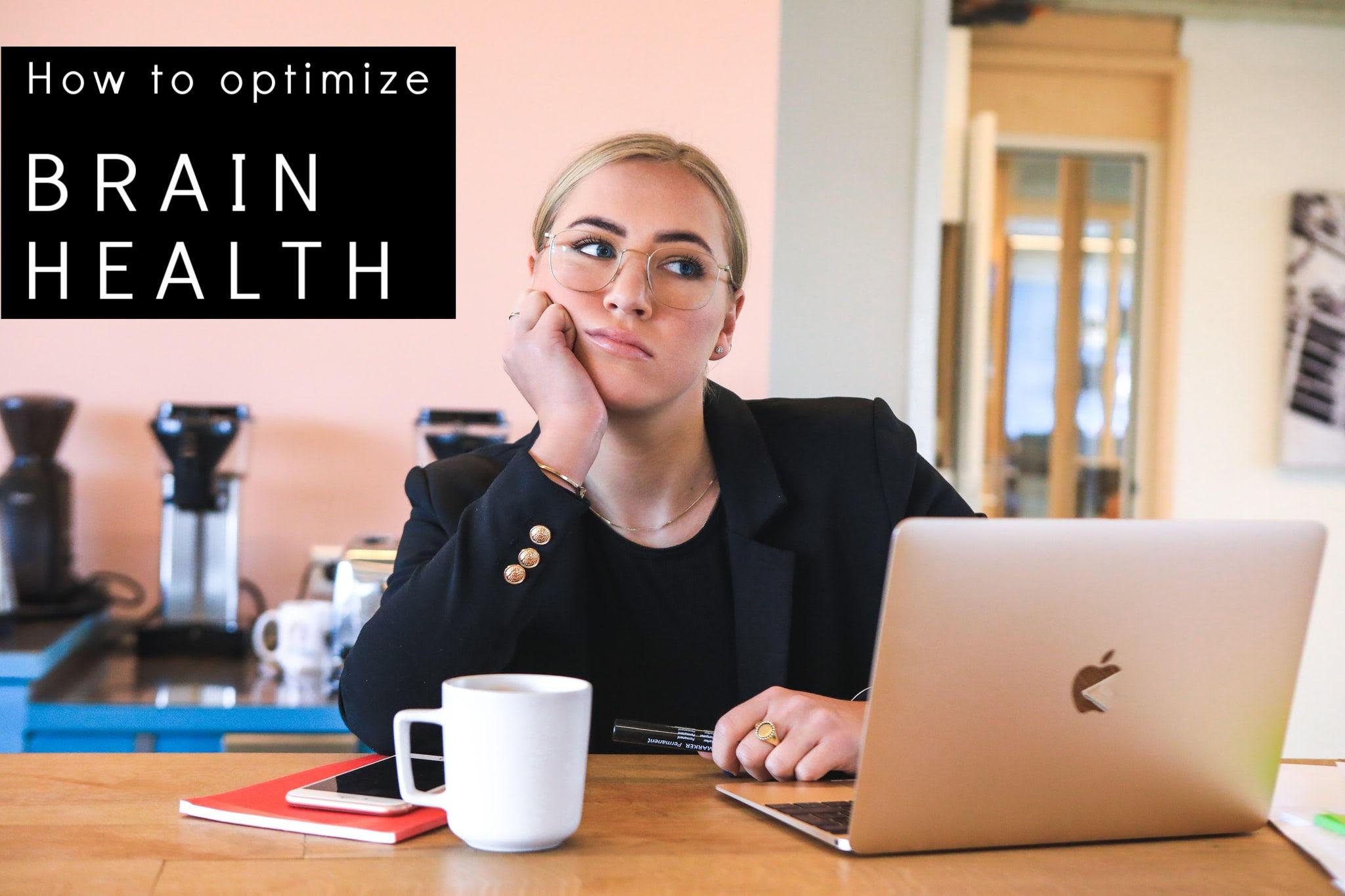 Optimize Brain Health